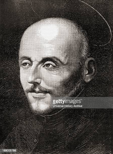Saint Ignatius Of Loyola 1491 To 1556 Spanish Knight Hermit And Priest Who Founded The Society Of Jesus From The Book Short History Of The English...