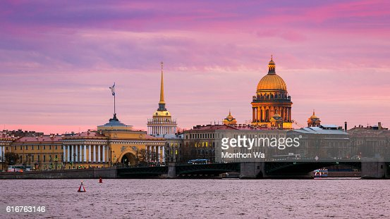 Saint Isaac's Cathedral , Saint Petersburg : Stock Photo