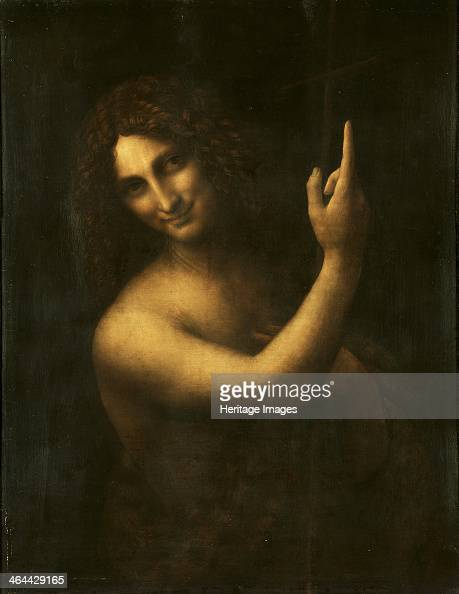 Saint John the Baptist 15131516 Found in the collection of the Louvre Paris
