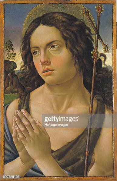 Saint John the Baptist Found in the collection of Museu Nacional d'Art de Catalunya Barcelona