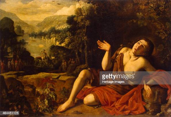 Saint John the Baptist in the Desert 1630 Found in the collection of the State Hermitage St Petersburg