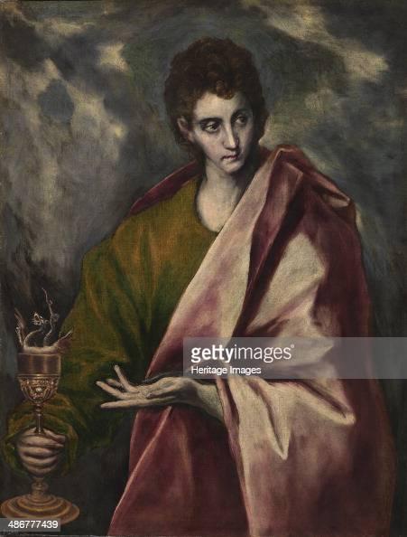 Saint John the Evangelist c 1605 Artist El Greco Dominico