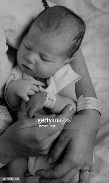 Saint Joseph's Hospital Babies Mrs John Hurley and son Edward Corey born June 17 at St Joseph Hospital wear bond identifying name code numbers and...