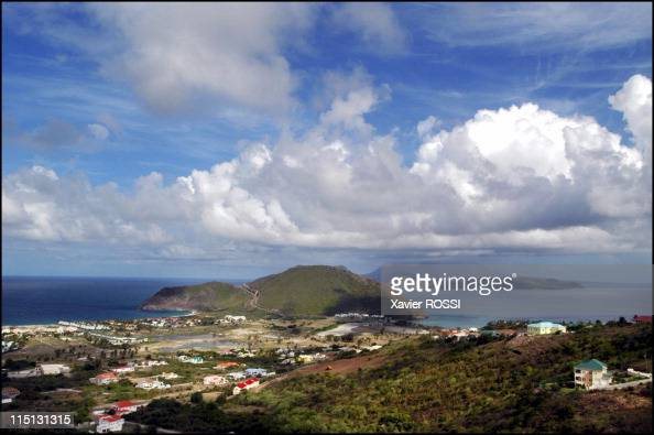 Saint Kitts And Nevis the island of Kim Collins World champion in September 2003 North Frigate Bay atlantic sea and South Frigate Bay Caribbean sea