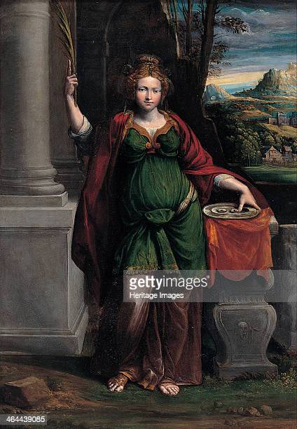 Saint Lucy 15351540 Found in the collection of the Musei Capitolini Rome