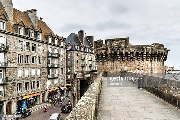 Saint Malo old town, France