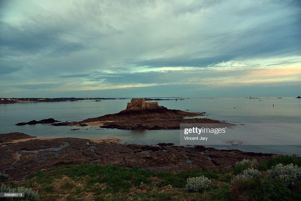 Saint Malo seascape
