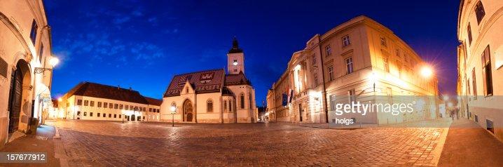 Saint Marks Church, Zagreb, Croatia