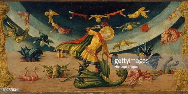 Saint Michael and the Dragon Found in the collection of Museu Nacional d'Art de Catalunya Barcelona