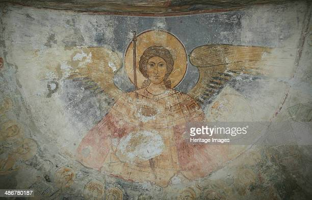 Saint Michael the Archangel 12th century Artist Ancient Russian frescos
