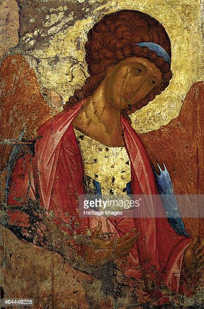 Saint Michael the Archangel c1410 Rublev Andrei Found in the collection of the State Tretyakov Gallery Moscow