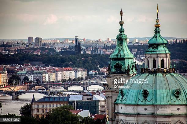 Saint Nichola church in Prague