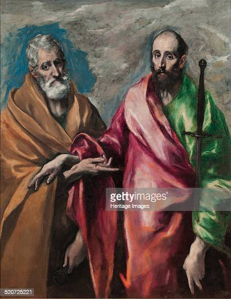 Saint Peter and Saint Paul Found in the collection of Museu Nacional d'Art de Catalunya Barcelona