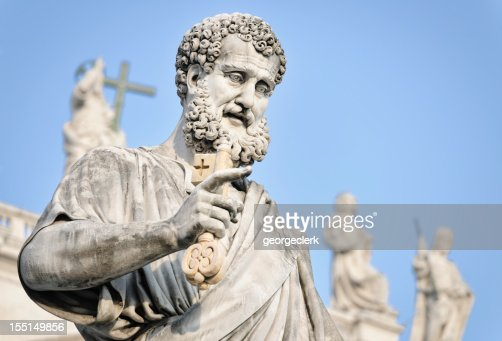 Saint Peter Holding a Key