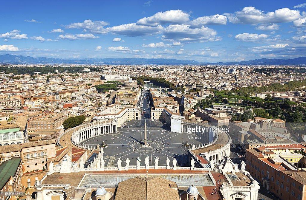 'Saint Peters Square, Rome'