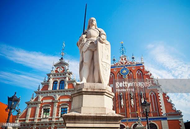 Saint Roland In Riga, Latvia