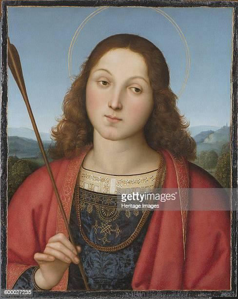 Saint Sebastian ca 15011502 Found in the collection of Accademia Carrara Bergamo Artist Raphael