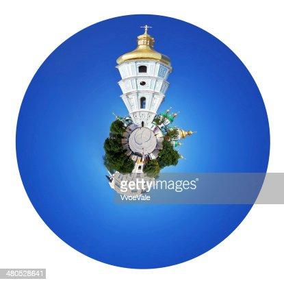 Cattedrale di Santa Sofia e di Santa Sofia a Kiev : Foto stock