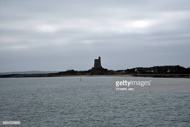 Saint vaast la hougue city in normandy