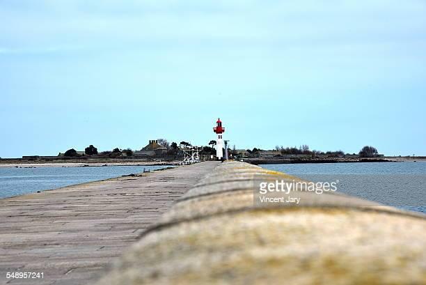 Saint Vaast la Hougue harbour and tatihou island