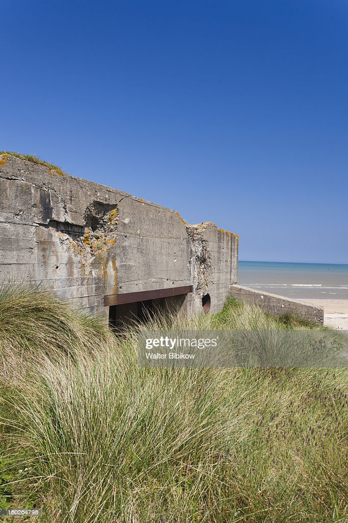Sainte Marie du Mont, Normandy, D-Day Beaches : Stock Photo