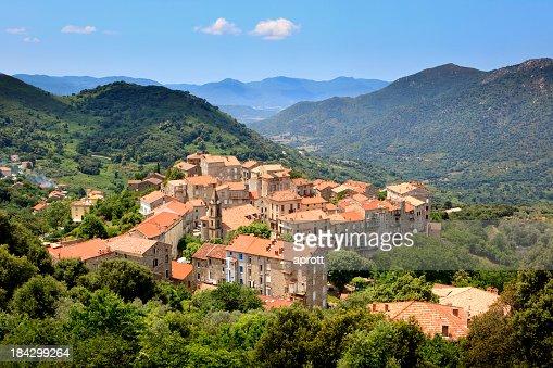 Sainte-Lucie-de-Tallano, Corsica, France