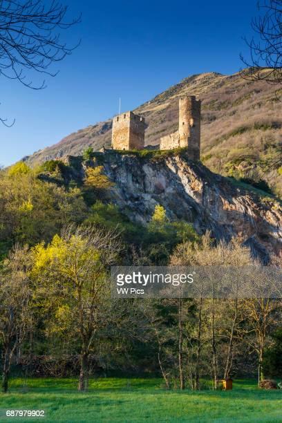 SainteMarie Castle LuzSaintSauveur HautesPyrenees department MidiPyrenees region France Europe