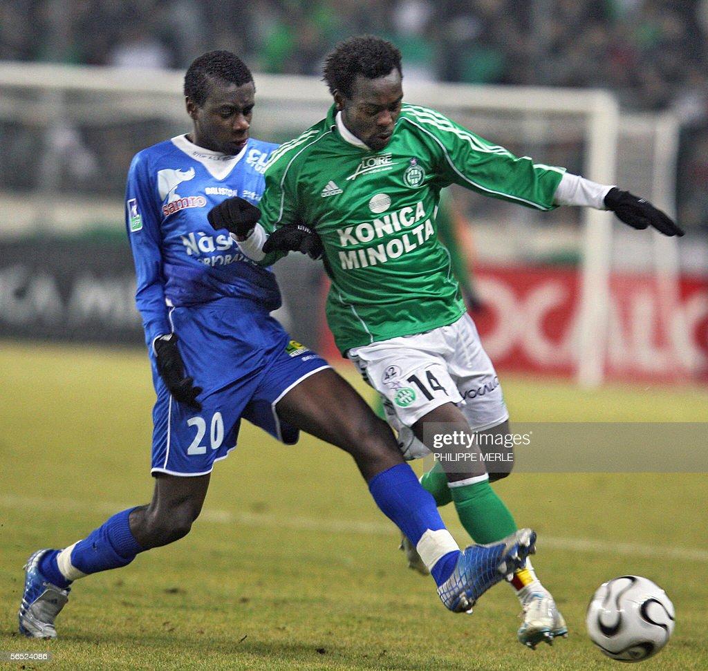 Troyes midfielder Blaise Matuidi L vi