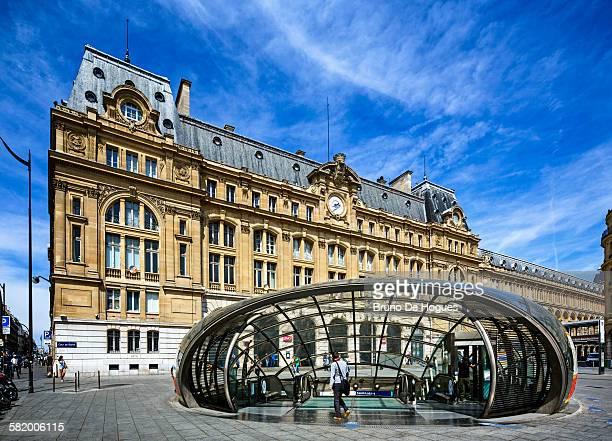 Saint-Lazare Train Station at Paris