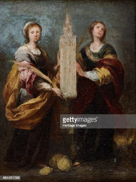 Saints Justa and Rufina ca 1665 Found in the collection of the National Museum of Western Art Tokyo