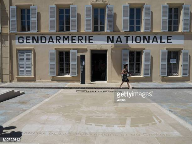 the famous police station in Place Blanqui where 'Le gendarme de Saint Tropez' featuring Louis de Funes was filmed now housing the Museum of Police...