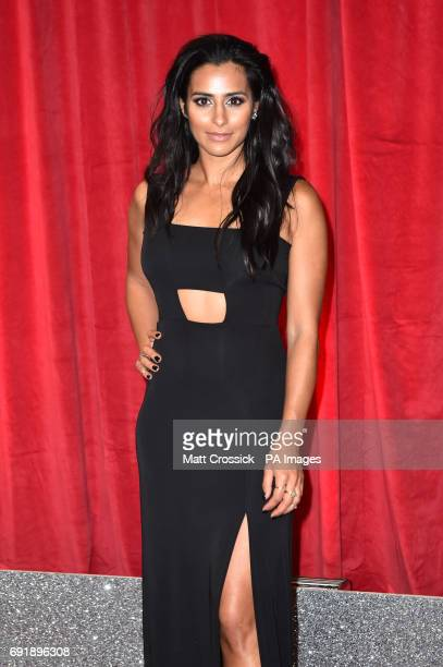 Sair Khan attending the British Soap Awards 2017 at The Lowry Salford Manchester