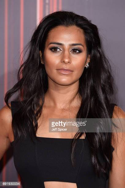 Sair Khan attends The British Soap Awards at The Lowry Theatre on June 3 2017 in Manchester England The Soap Awards will be aired on June 6 on ITV at...