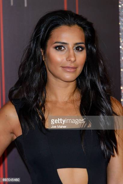 Sair Khan attends the British Soap Awards at The Lowry Theatre on June 3 2017 in Manchester England
