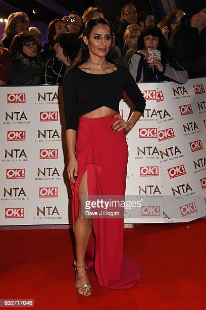 Sair Khan attends the National Television Awards at Cineworld 02 Arena on January 25 2017 in London England