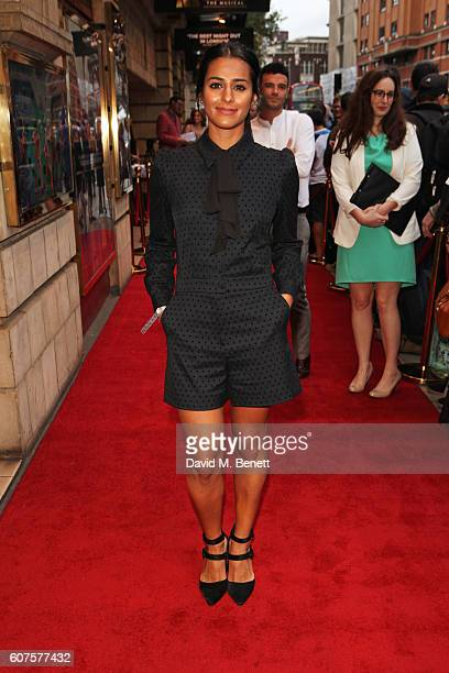 Sair Khan attends the National Youth Theatre's 60th Anniversary Gala 'The Story Of Our Youth At 60' at The Shaftesbury Theatre on September 18 2016...