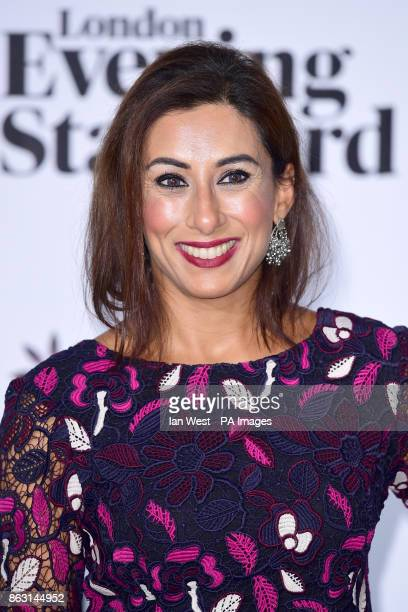 Saira Khan at the London Evening Standard's annual Progress 1000 in partnership with Citi and sponsored by Invisalign UK held in London PRESS...