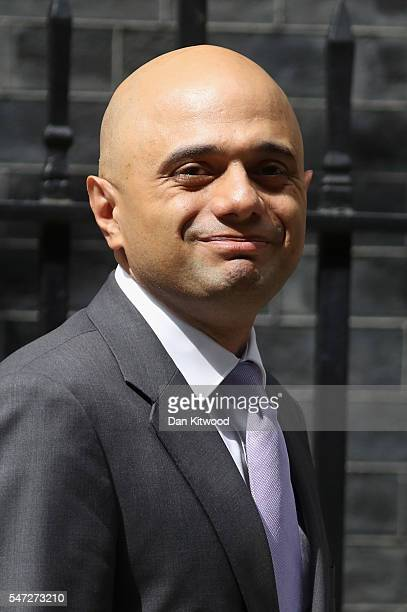Sajid Javid leaves 10 Downing Street where he was appointed as Communities Secretary as Prime Minister Theresa May continues to appoint her cabinet...