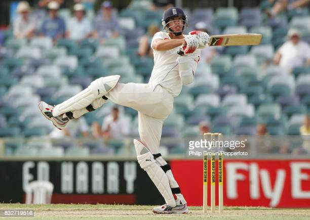 Sajid Mahmood batting for England during the tour match between Western Australia and England XI at the WACA Perth Australia 10th December 2006