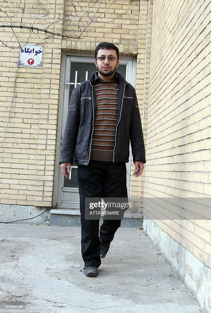 Sajjad Qaderzadeh, son of Iranian 43-year-old Iranian Sakineh Mohammadi-Ashtiani who has been sentenced to death by stoning for adultery, leaves after giving an interview to a group of journalists from international news networks in Iran's northwestern city of Tabriz on January 1, 2011 in which he said that his mother was guilty of murdering his father and that he made her case controversial to save her. Qaderzadeh was released on bail on December 12, 2010 and his meeting with the foreign media was arranged by the provincial justice department at a guesthouse belonging to a government welfare organisation.