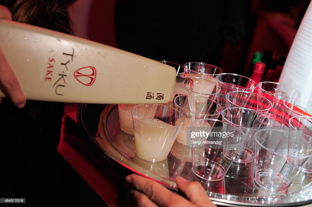 KU sake on display at Mix It Up with Morimoto Friends during 2015 Food Network Cooking Channel South Beach Wine Food Festival presented by FOOD WINE...