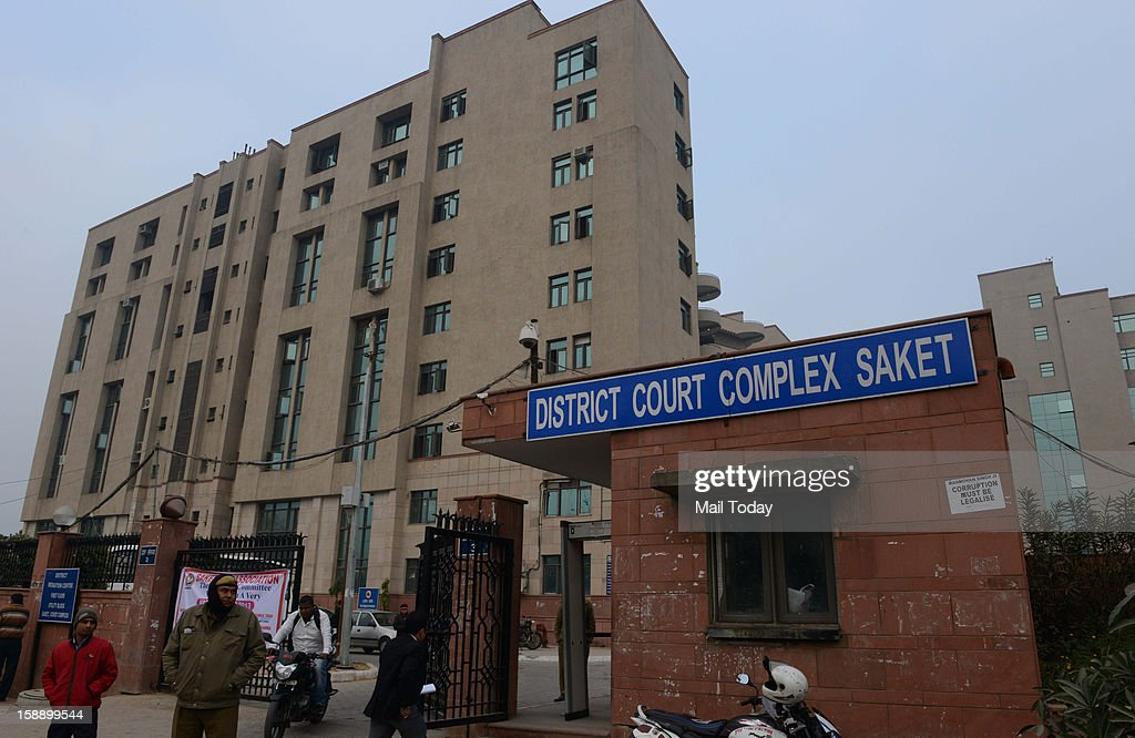 Saket District Court where Chief Justice of India Justice Altamas Kabir inaugurated a fast-track court for the gang-rape and murder case of the 23-year-old medical student, at Saket in New Delhi on Wednesday.