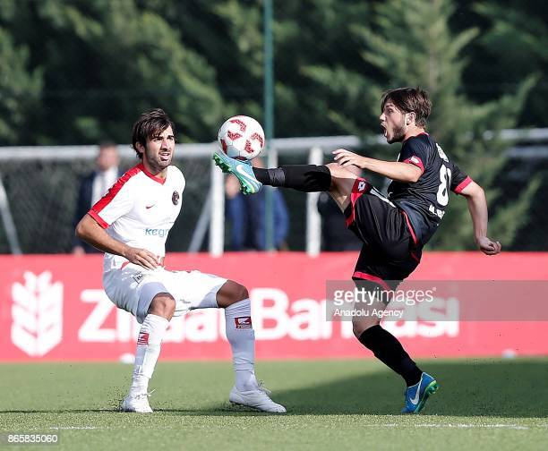 Sakib Aytac of Antalyaspor in action during the 4th round of the Ziraat Turkish Cup soccer match between Etimesgut Belediyespor and Antalyaspor at...