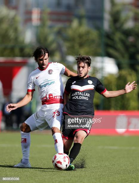 Sakib of Antalyaspor in action during the 4th round of the Ziraat Turkish Cup soccer match between Etimesgut Belediyespor and Antalyaspor at Ataturk...