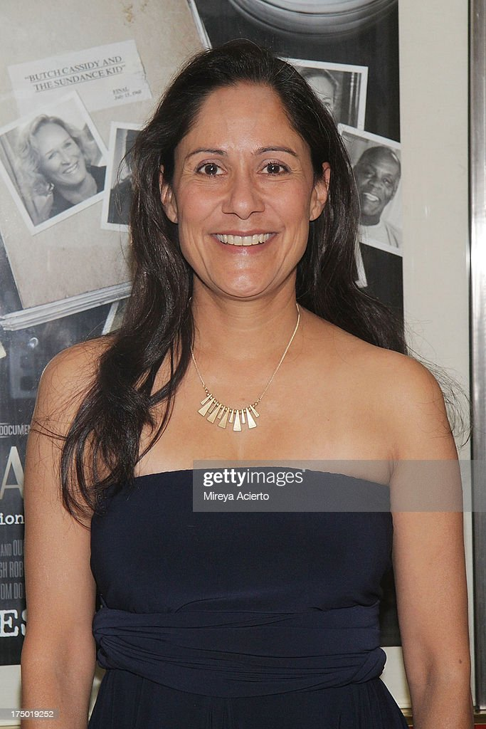 Sakina Jaffrey attends the 'Casting By' premiere at HBO Theater on July 29, 2013 in New York City.