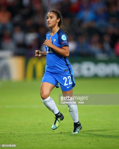Sakina Karchaoui of France Women during the UEFA Women's Euro 2017 match between England and France at Stadion De Adelaarshorst on July 30 2017 in...