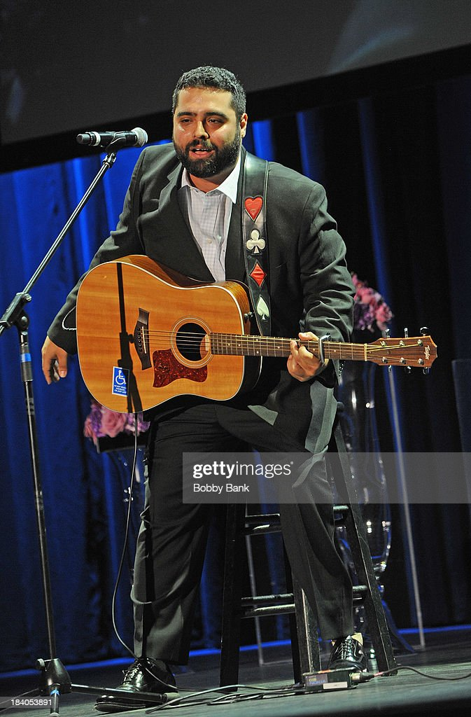 Sal Gonzalez performs at the Wounded Warrior Project Carry Forward Awards Show at Club Nokia on October 10, 2013 in Los Angeles, California.