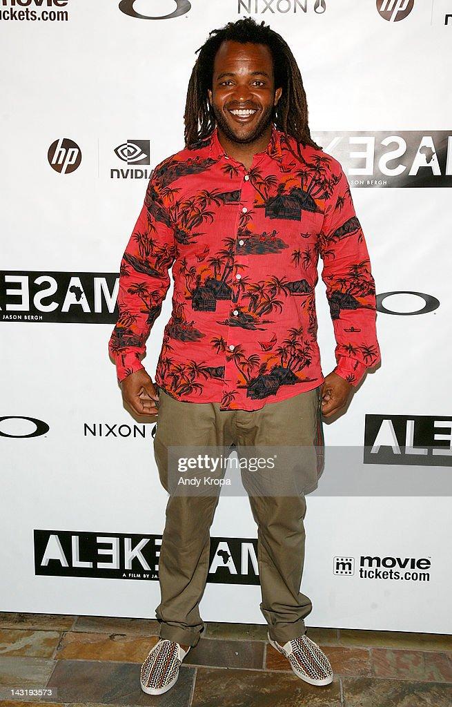 Sal Masekela attends the 'Alekesam' premiere at the Tribeca Grand Hotel on April 20, 2012 in New York City.