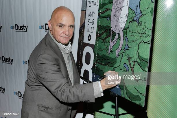 Sal Petrosino attends the 28th Dusty Film Animation Festival at SVA Theater on May 8 2017 in New York City