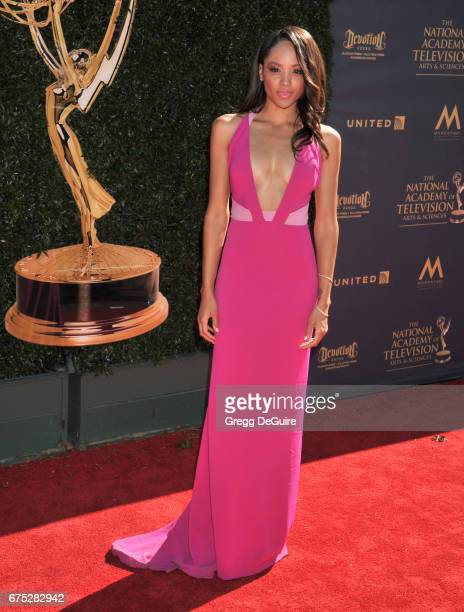 Sal Stowers arrives at the 44th Annual Daytime Emmy Awards at Pasadena Civic Auditorium on April 30 2017 in Pasadena California